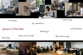 Vuelos a Amsterdam: Working, Connecting, Meeting, Workshops, building, network drinks, brainstorming, The Hub Amsterdam.